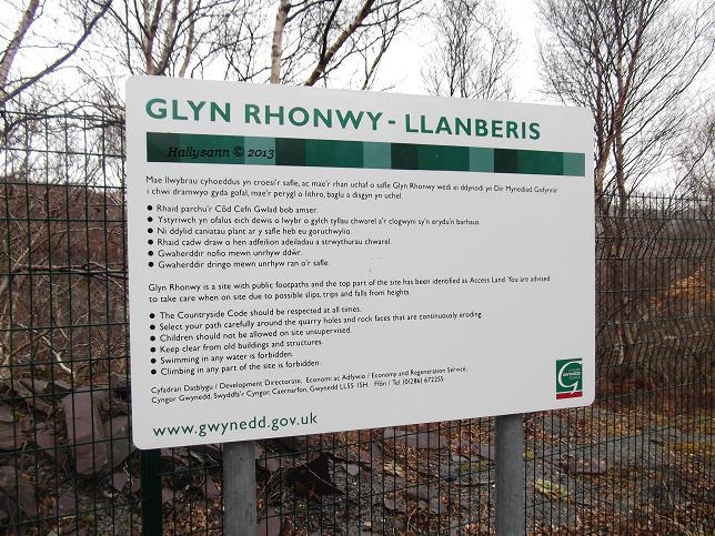85. Glyn Rhonwy.