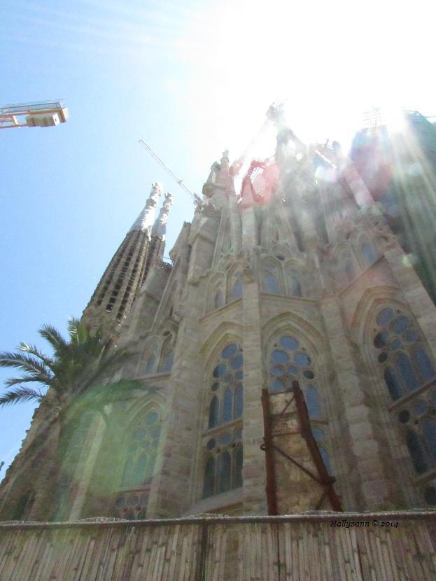 2014-06. Sagrada Família cranes.